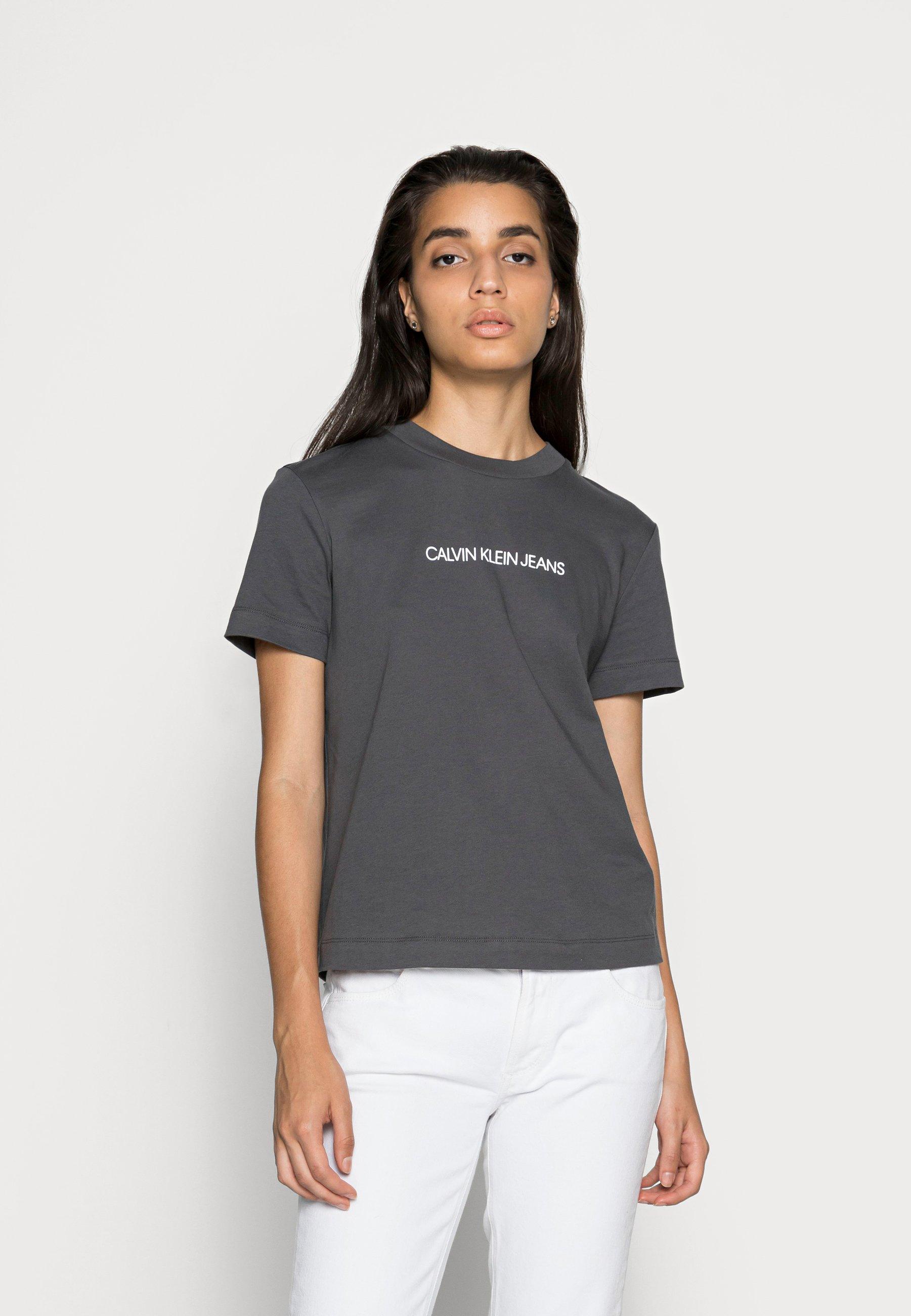 Women SHRUNKEN INSTITUTIONAL TEE - Print T-shirt