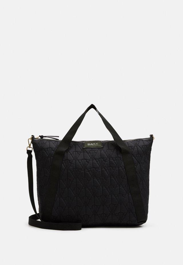 GWENETH DECOR CROSS - Shopping bag - black