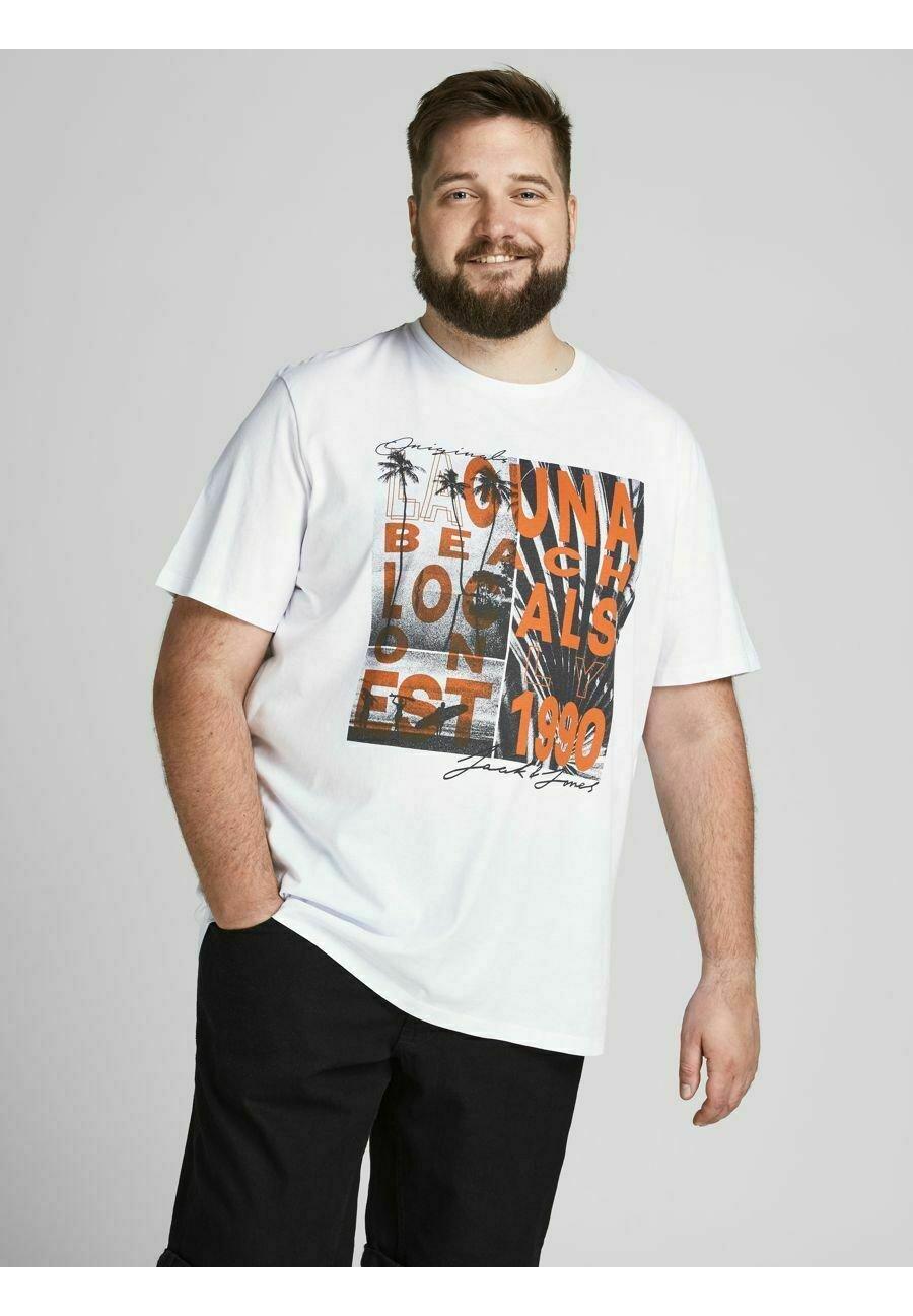 Herren JOROCTO TEE CREW NECK - T-Shirt print