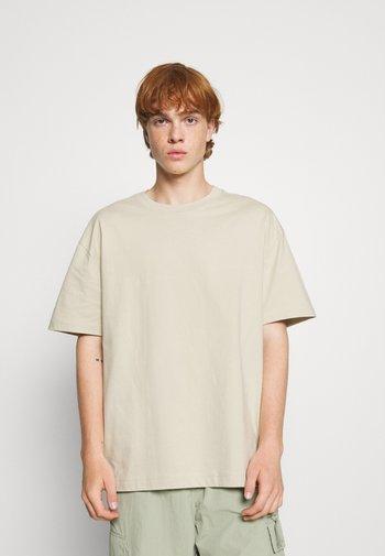 OVERSIZED  - T-shirt - bas - beige