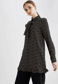 DeFacto - Button-down blouse - black - 0