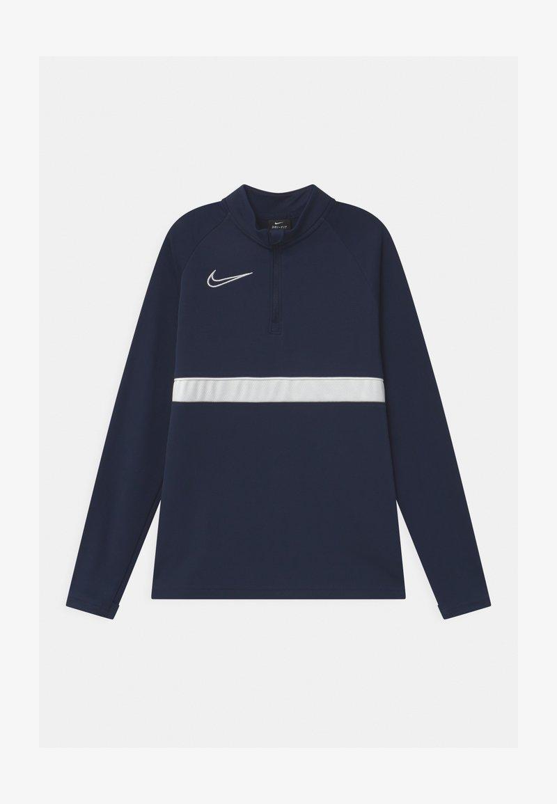 Nike Performance - ACADEMY DRIL UNISEX - Sportshirt - obsidian/white