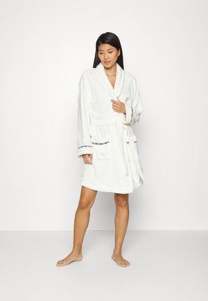 FOLDED ROBE - Dressing gown - white