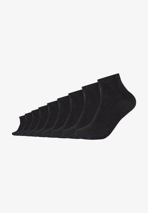 9 PACK - Trainer socks - black