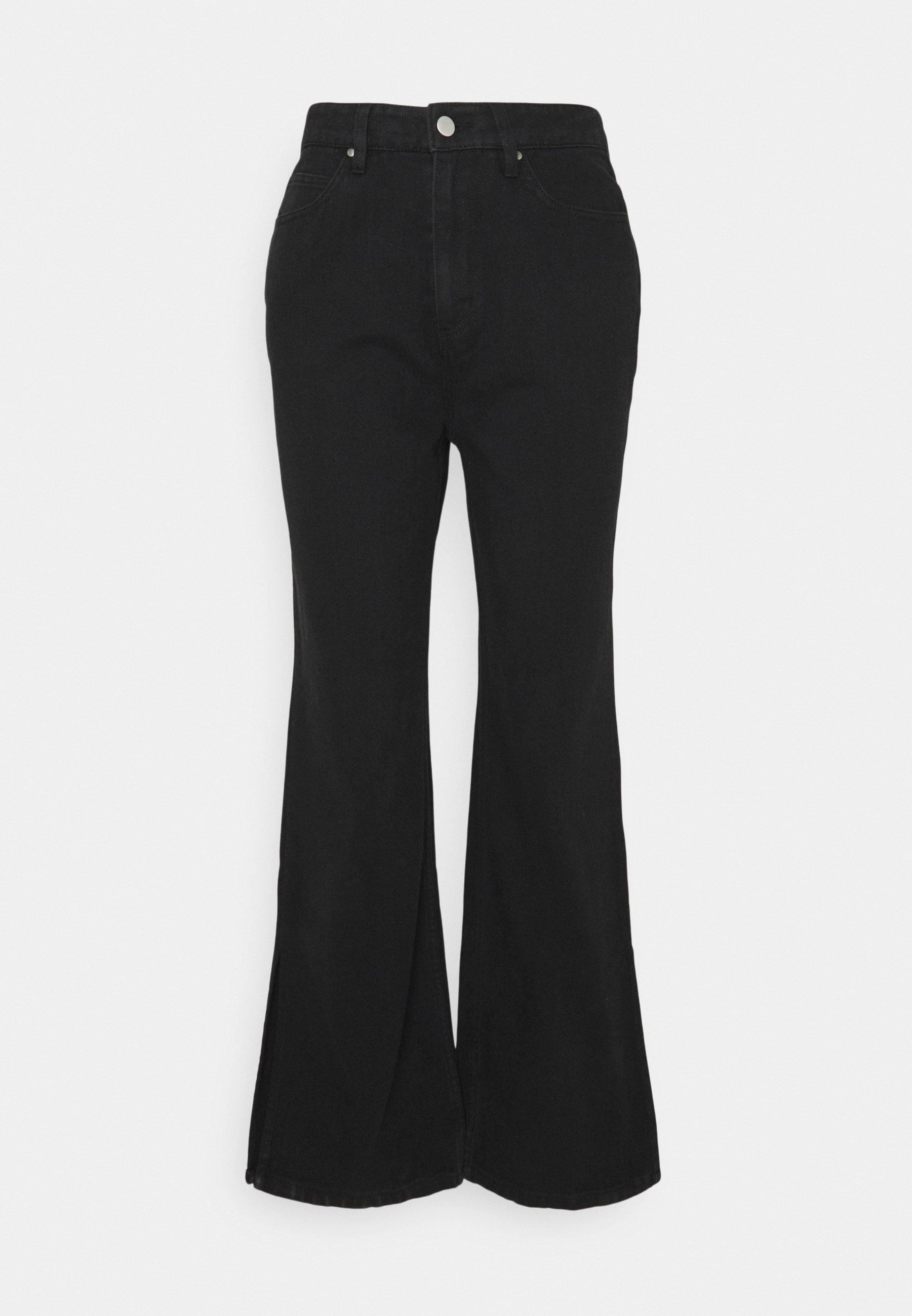 Damen SPLIT SIDE JEAN - Flared Jeans