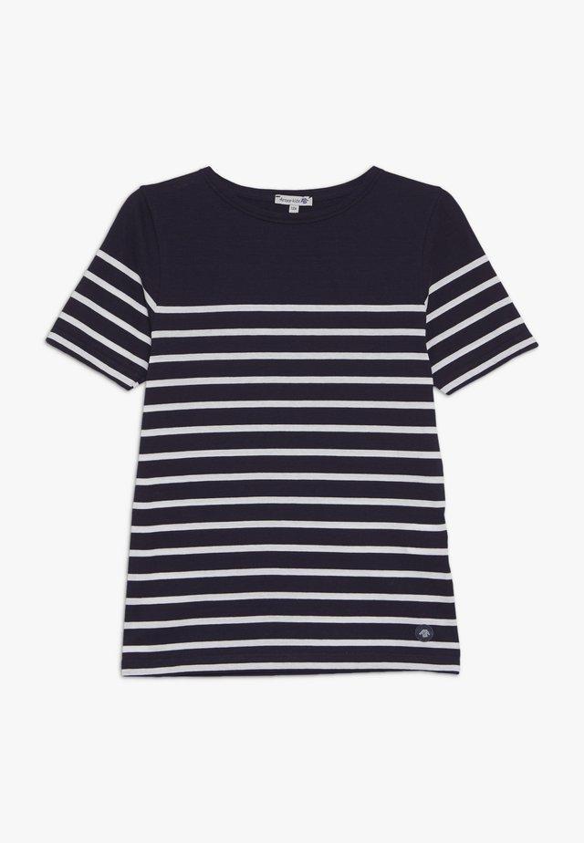 ETEL - MARINIÈRE - T-SHIRT - T-shirts med print - navire/blanc