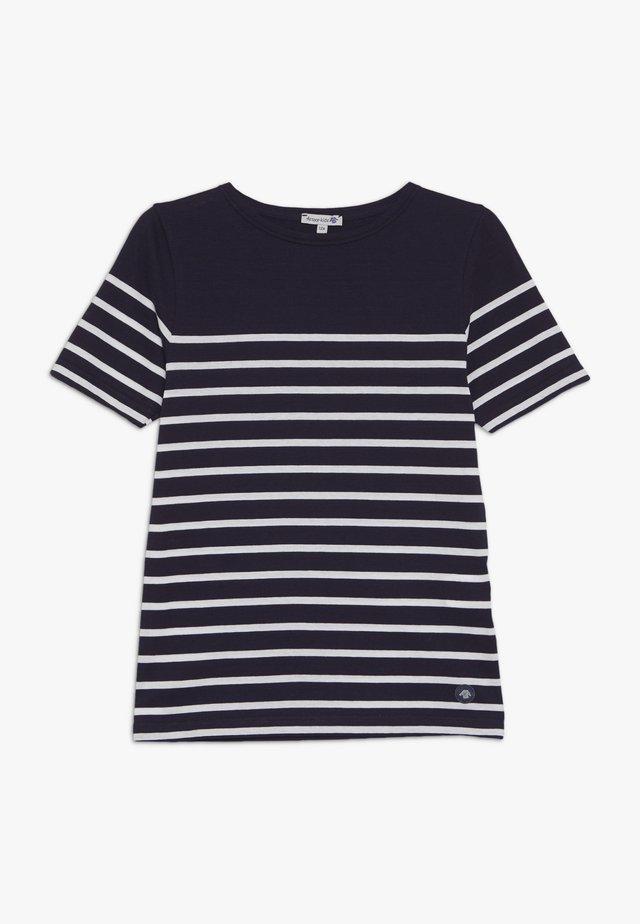 ETEL - MARINIÈRE - T-SHIRT - T-shirt con stampa - navire/blanc