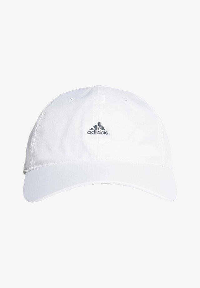 ESSENTIALS LOGO LIGHTWEIGHT CAP - Cap - white