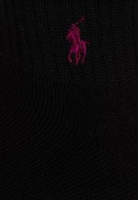 Polo Ralph Lauren - QUARTER 3 PACK - Skarpety - black - 1