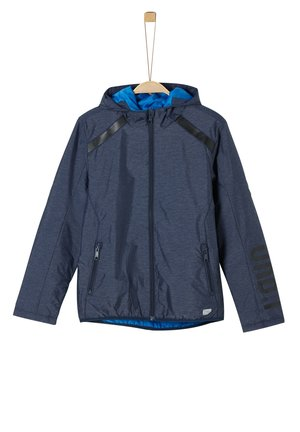 Summer jacket - blue melange