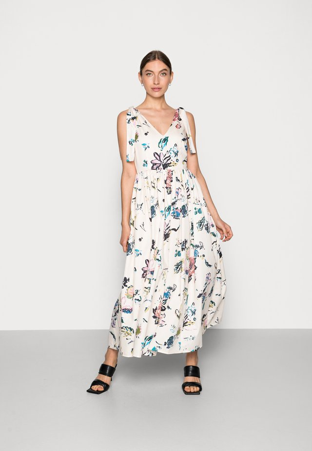 GARDEN  ANKLE GOWN DRESS - Sukienka letnia - sandshell