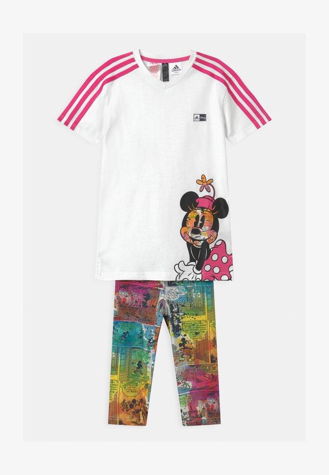 SET UNISEX - Chándal - pink/white