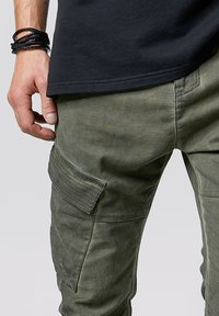 Tigha - Trousers - forest green - 3