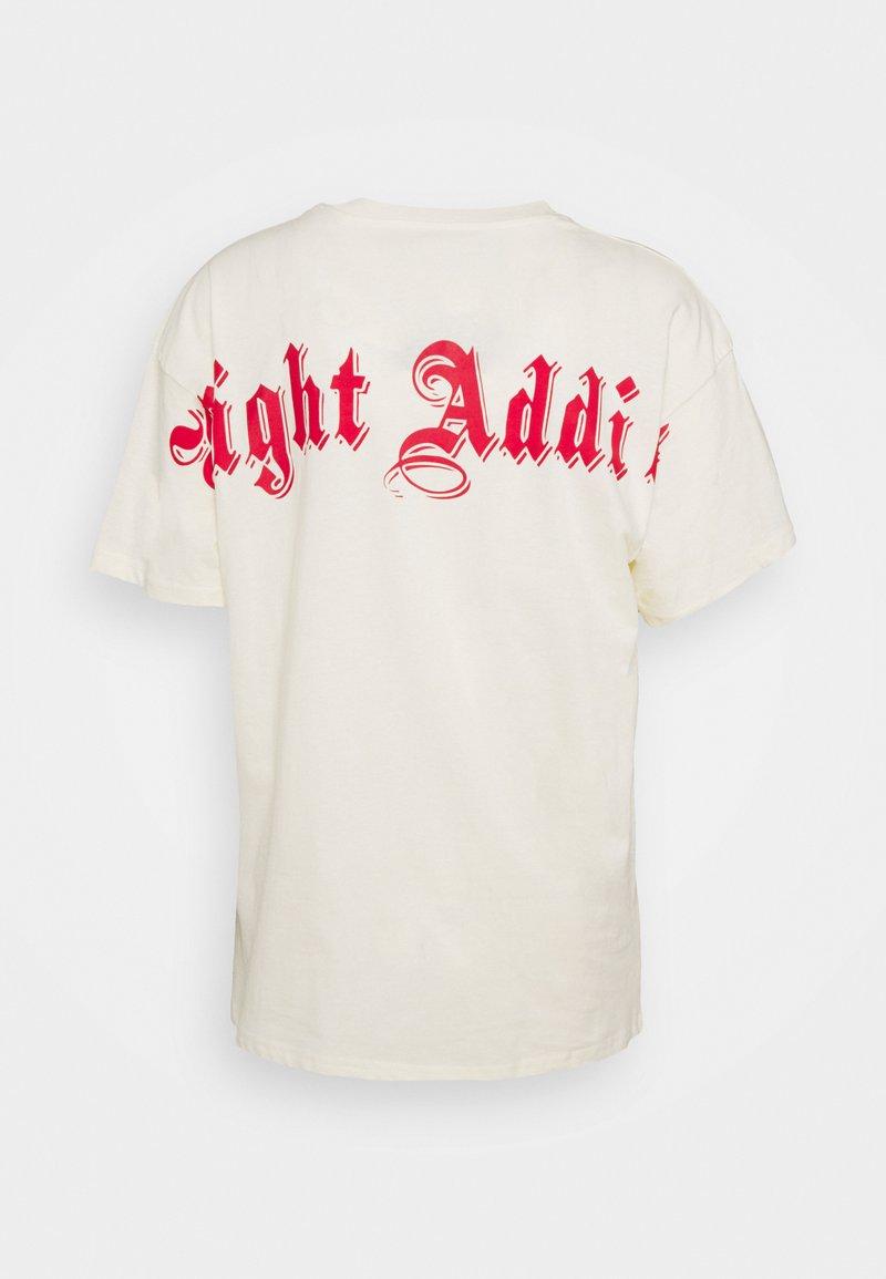 Night Addict - CROSS UNISEX - T-shirt med print - cream