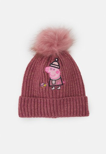 NMFPEPPAPIG DITH KNITHAT UNISEX - Hat - deco rose