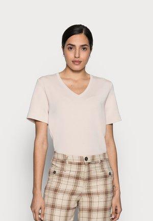 BECA KARMEN - Print T-shirt - powder beige