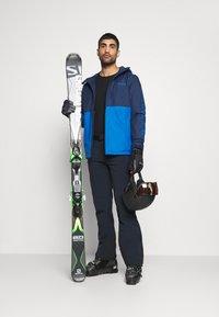 Columbia - TIMBERTURNER JACKET - Snowboard jacket - bright indigo/collegiate navy - 1