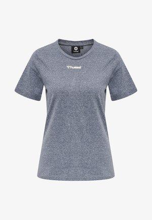 T-shirt basique - blue nights melange