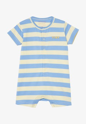 TINY STRIPES ONE-PIECE - Jumpsuit - lemonade/cerulean blue