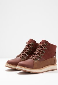 TOMS - MESA - Lace-up ankle boots - brown - 4