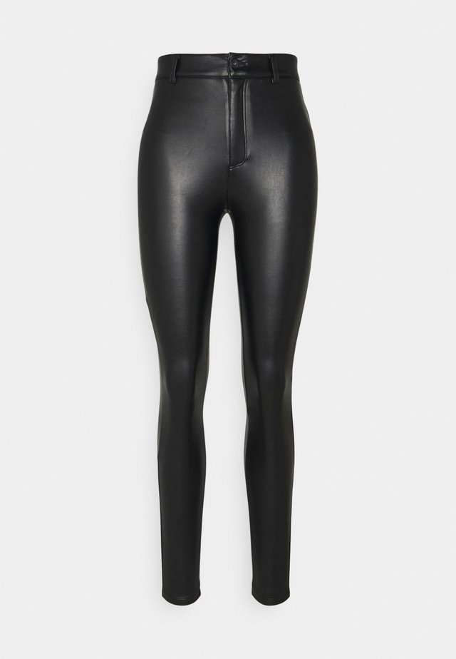 ONLBLUSH MARIA LEG - Bukse - black