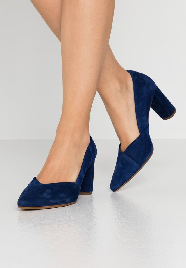 BUSINESS - Klassiske pumps - navy