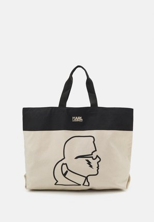 EXCLUSIVE IKONIK WITH HANDLES - Shopping Bag - off-white