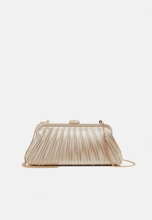 LISA PLEATED FRAME POUCH - Clutch - champagne