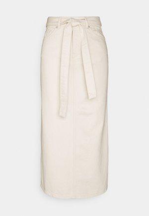 SLFALMA LONG - Falda de tubo - creme