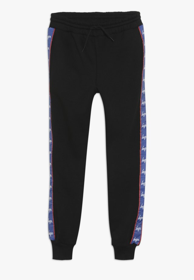 TAPED  - Tracksuit bottoms - black