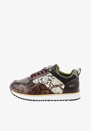 DERUTTA - Sneakersy niskie - brown