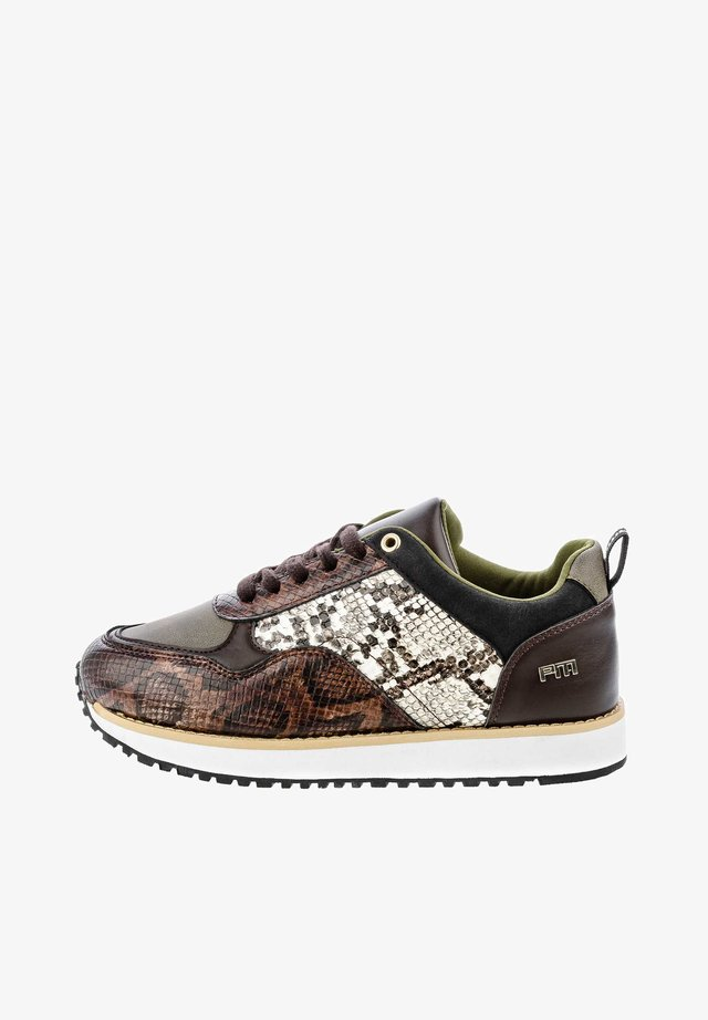 DERUTTA - Sneakers laag - brown