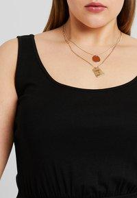 New Look Curves - TIE STRAP - Maxi dress - black - 5