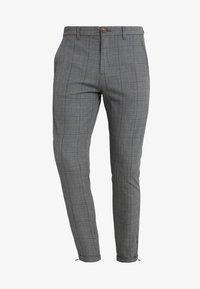 Gabba - PISA ENGLISH - Trousers - grey check - 4