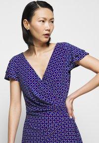 Lauren Ralph Lauren - PRINTED MATTE DRESS - Shift dress - french ultramarin - 3