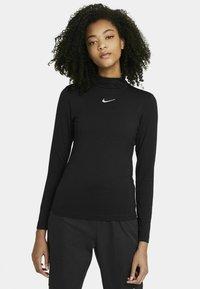 Nike Sportswear - MOCK - Topper langermet - black - 0
