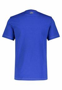 Lacoste - Print T-shirt - blau - 2