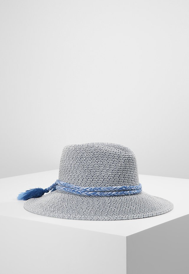 SHADY LADY - COLLAPSIBLE FEDORA - Hat - indigo