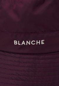 BLANCHE - BUCKET HAT - Klobouk - bordeux - 3