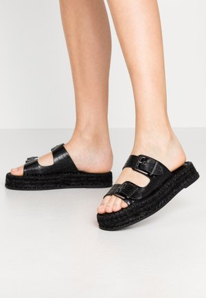 PALM  - Pantofle - black