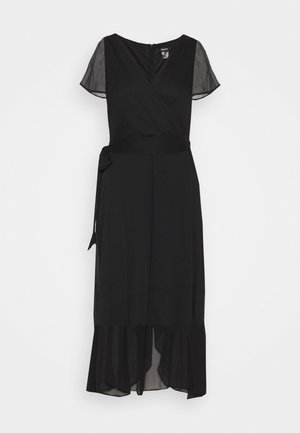 FLUTTER SLEEVE  - Day dress - black