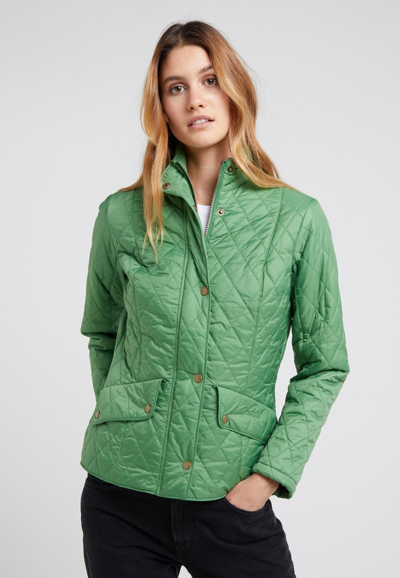 Barbour - FLYWEIGHT CAVALRY QUILT - Light jacket - clover