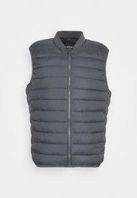 SULESS - Waistcoat - medium grey