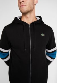 Lacoste Sport - Sweatjacke - black/illumination/silver chine - 5