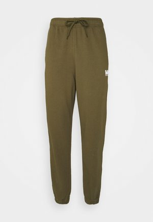 TRACKPANTS - Tracksuit bottoms - olive