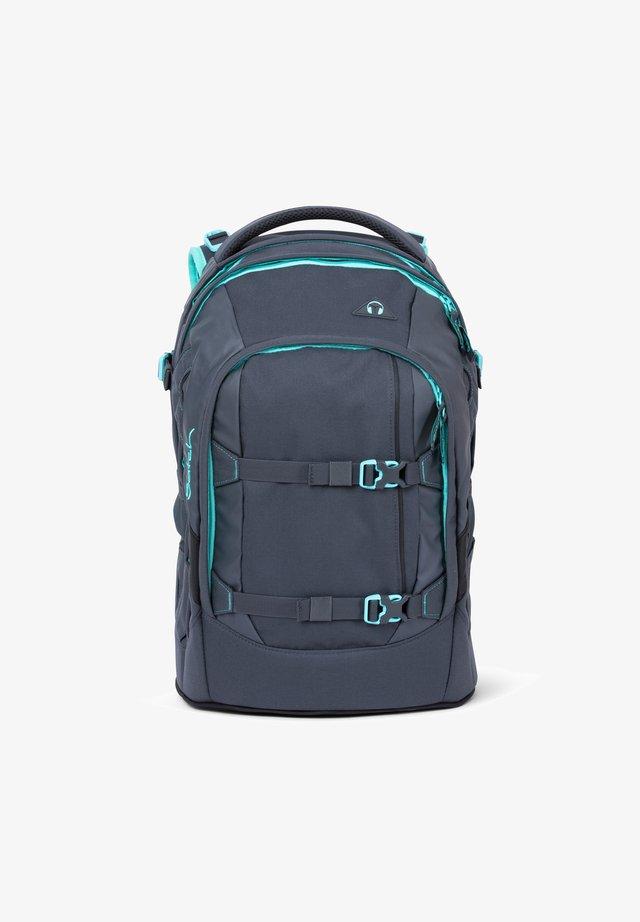 School bag - grey mint