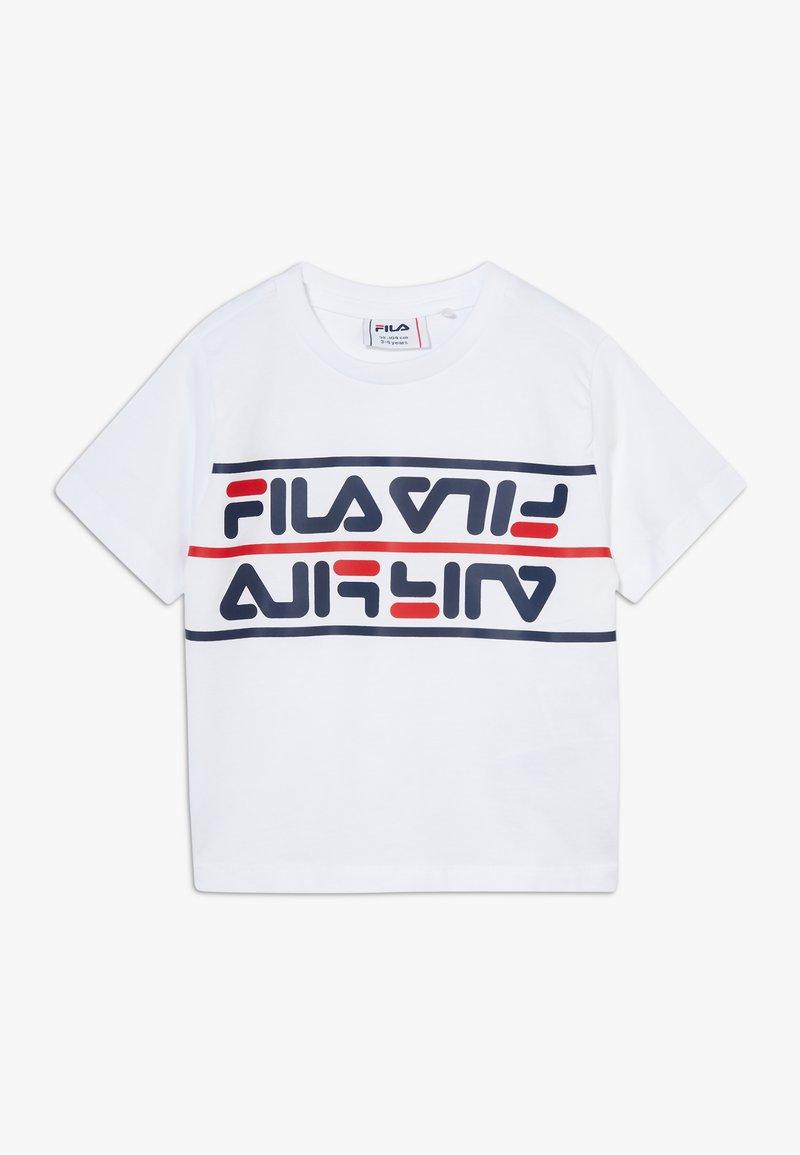Fila - SALMAN - T-shirt print - bright white