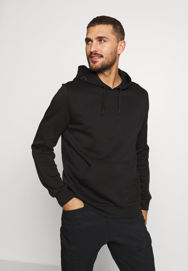 TECH HOOD - Bluza z kapturem - black