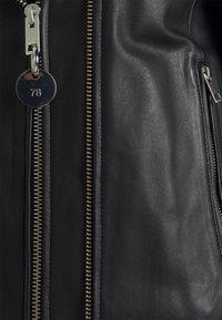 Diesel - L-LYFA - Leather jacket - black - 2