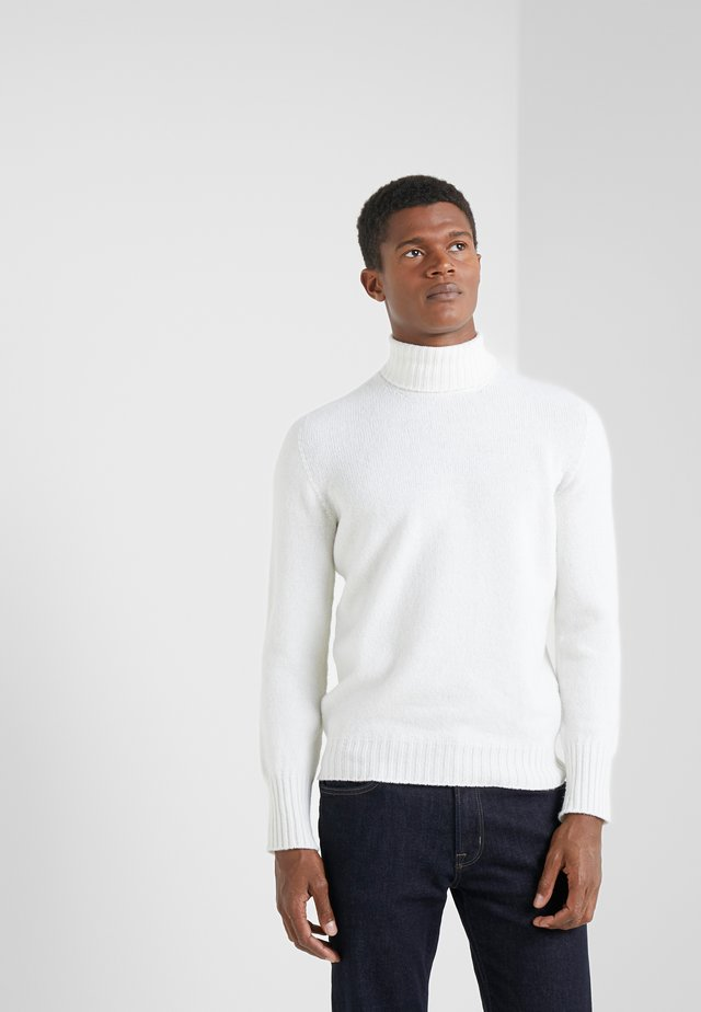 TURTLE NECK - Jumper - white